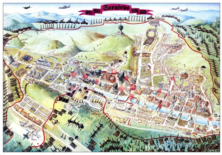 Sarajevo-Escape-map-1996-copyright-Miran-Norderland (Large)