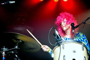 Deap Vally drums (3)